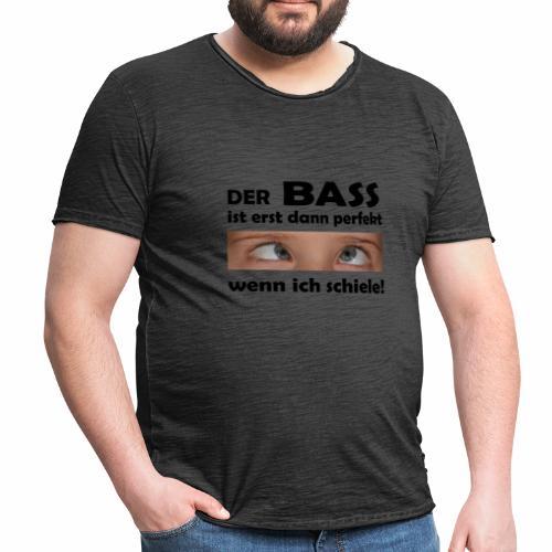 Techno Bass - Männer Vintage T-Shirt