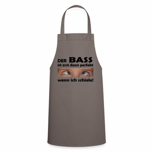 Techno Bass - Kochschürze