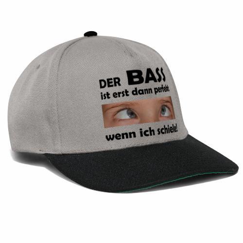 Techno Bass - Snapback Cap