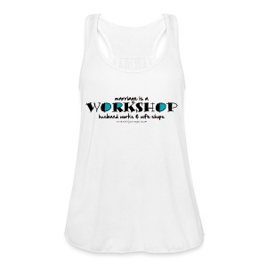 Workshop t-shirt - Women's Tank Top by Bella