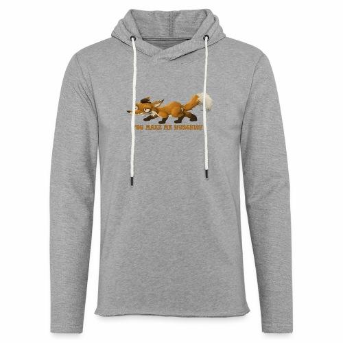 wuschiger Fuchs - Leichtes Kapuzensweatshirt Unisex
