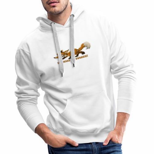 wuschiger Fuchs - Männer Premium Hoodie