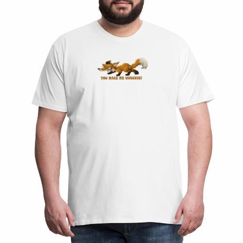 wuschiger Fuchs - Männer Premium T-Shirt