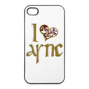 I Love ASNC Cooking Apron - iPhone 4/4s Hard Case