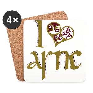 I Love ASNC Cooking Apron - Coasters (set of 4)
