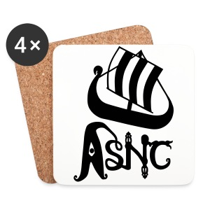 ASNC Society Logo Umbrella - Coasters (set of 4)