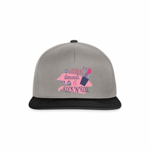 Lipsticks & Rock´n´Roll - Snapback Cap