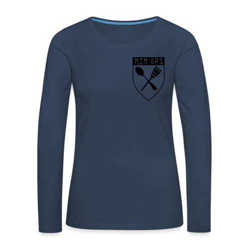 MIM OPS, dame - Women's Premium Longsleeve Shirt