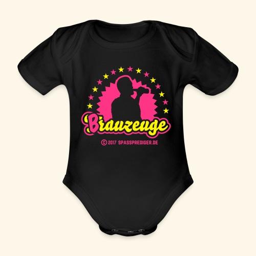 Brauzeuge - Baby Bio-Kurzarm-Body