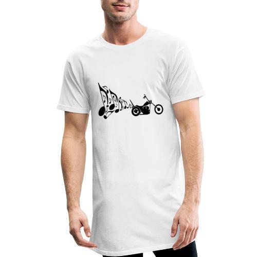 Escape moto Chopper. Música para los oídos - Camiseta urbana para hombre