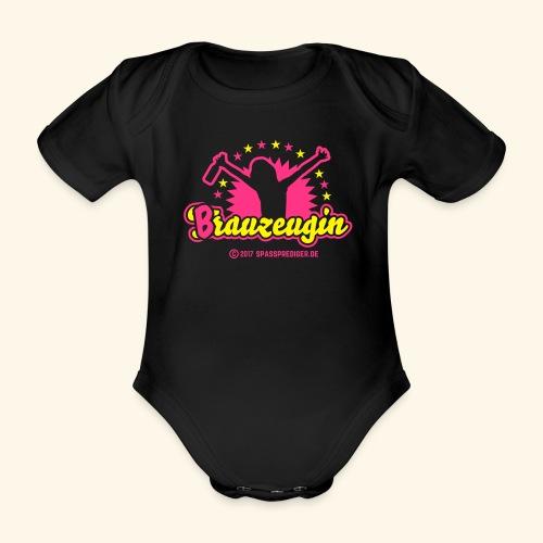 Brauzeugin - Baby Bio-Kurzarm-Body