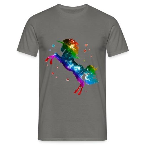Zauber Einhorn - Männer T-Shirt