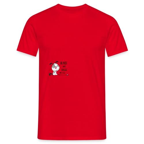 Hunde sind Engel - Männer T-Shirt