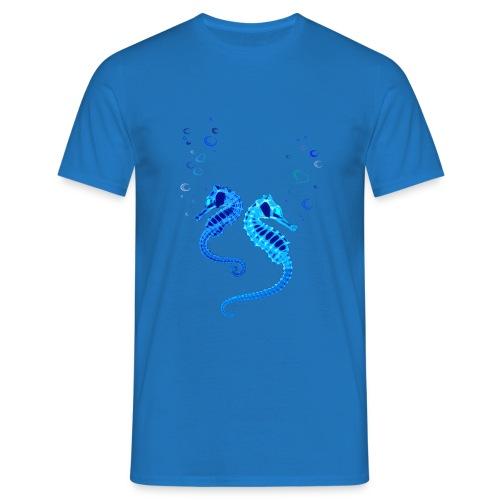 Seepferdchen - Männer T-Shirt