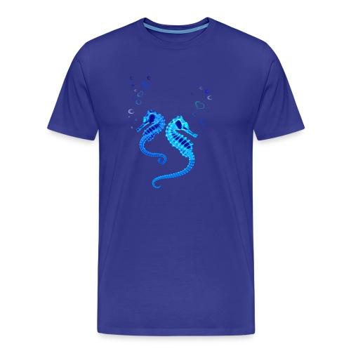 Seepferdchen - Männer Premium T-Shirt