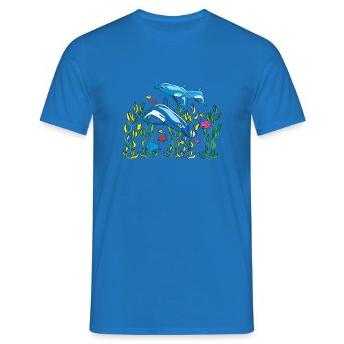 Delfine - Männer T-Shirt
