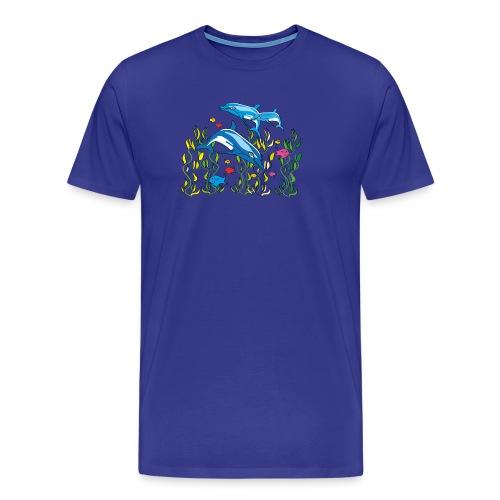 Delfine - Männer Premium T-Shirt