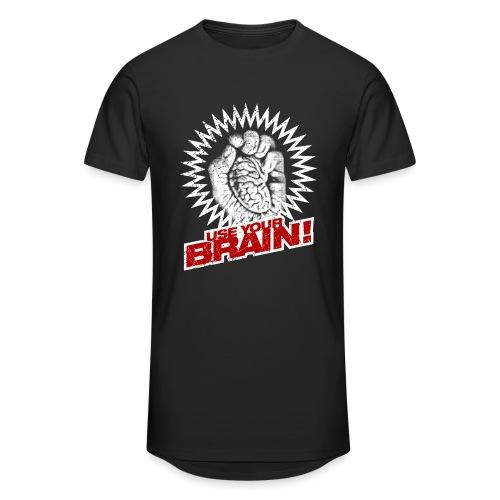Use Your Brain! - Männer Urban Longshirt