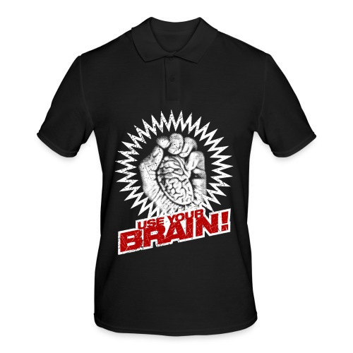 Use Your Brain! - Männer Poloshirt