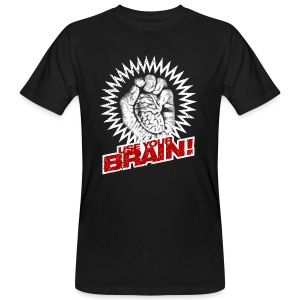 Use Your Brain! - Männer Bio-T-Shirt