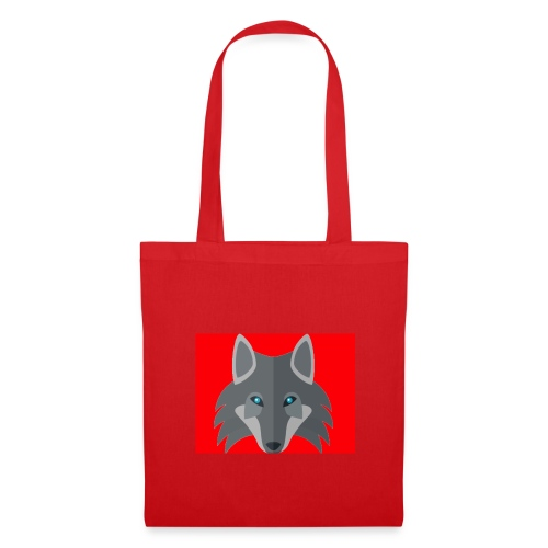 Men Red Wolf Channel Hoodie - Tote Bag