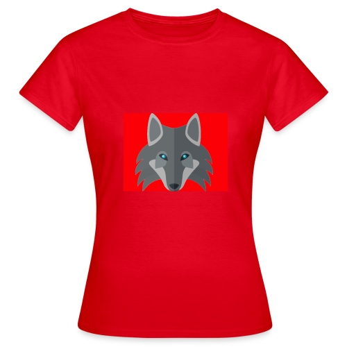 Men Red Wolf Channel Hoodie - Women's T-Shirt
