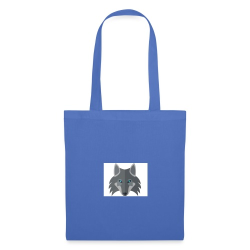 Men Blue Wolf channel Hoodie  - Tote Bag