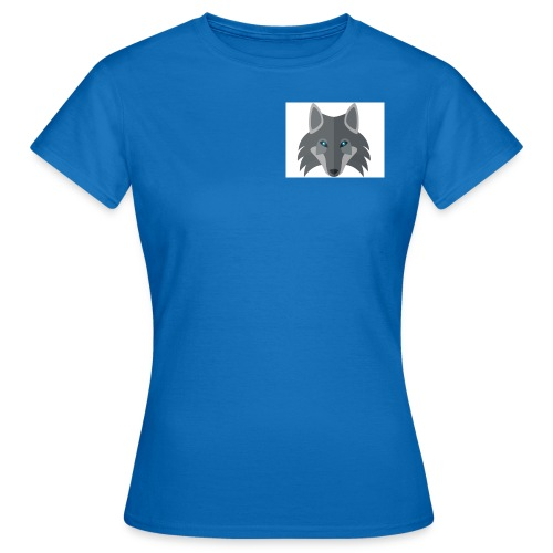 Men Blue Wolf channel Hoodie  - Women's T-Shirt