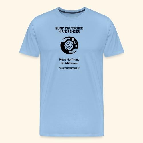 BDH - Bund deutscher Hirnspender - Männer Premium T-Shirt