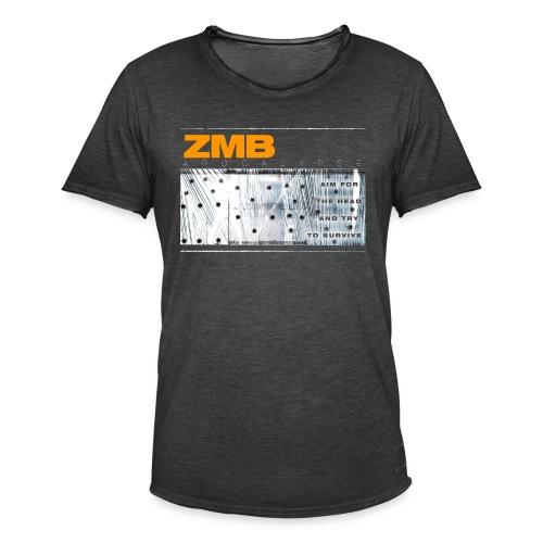 ZMB Apocalypse - Männer Vintage T-Shirt