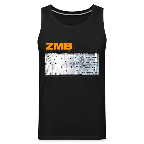 ZMB Apocalypse - Männer Premium Tank Top