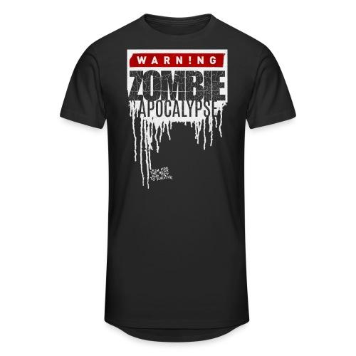 Warning Zombie Apocalypse - Männer Urban Longshirt