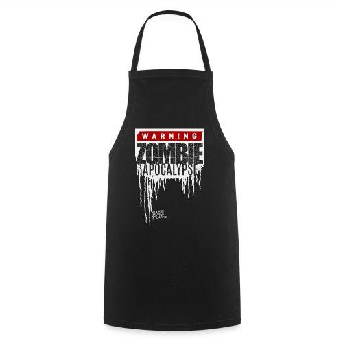 Warning Zombie Apocalypse - Kochschürze