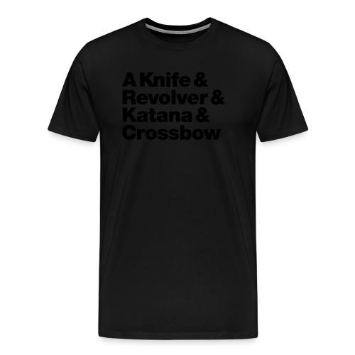 Zombie Hunter Weapons - Männer Premium T-Shirt