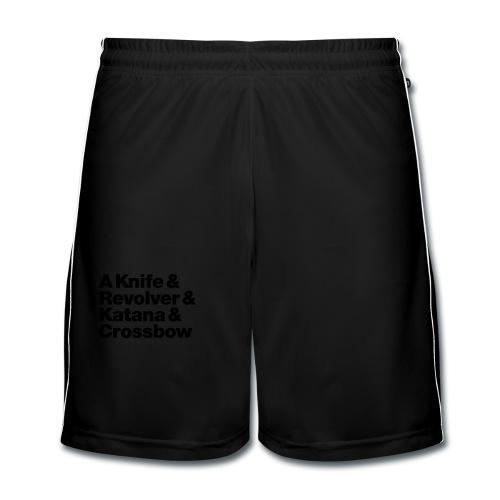 Zombie Hunter Weapons - Männer Fußball-Shorts