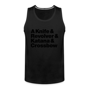 Zombie Hunter Weapons - Männer Premium Tank Top