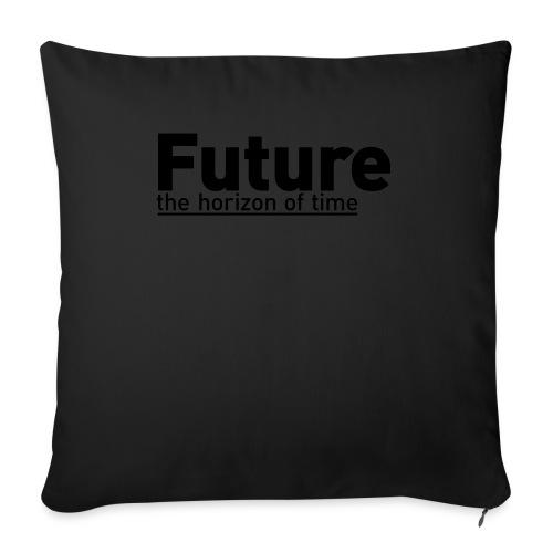 FUTURE | the horizon of time - Sofakissenbezug 44 x 44 cm