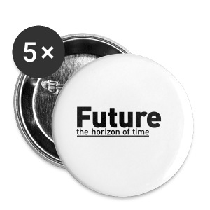 FUTURE | the horizon of time - Buttons klein 25 mm