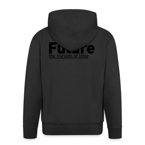 FUTURE   the horizon of time - Männer Premium Kapuzenjacke
