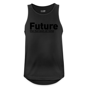 FUTURE | the horizon of time - Männer Tank Top atmungsaktiv