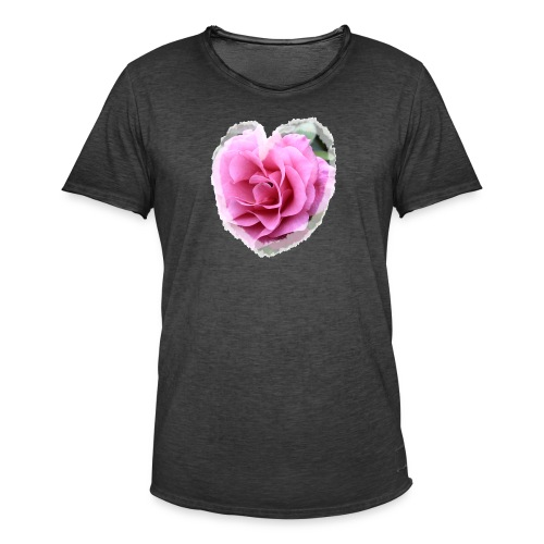 Herz-Liebe - Männer Vintage T-Shirt