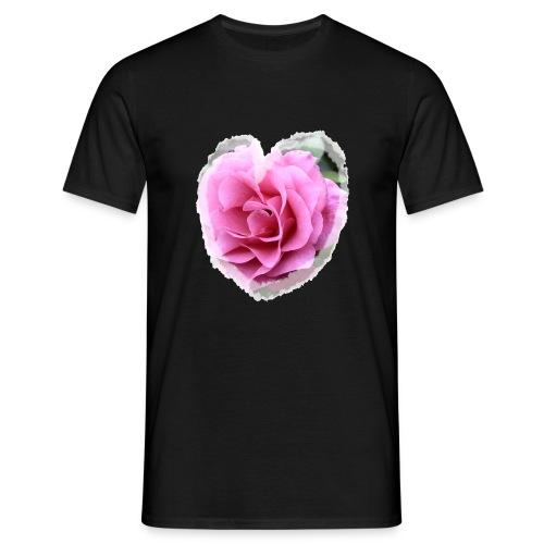 Herz-Liebe - Männer T-Shirt