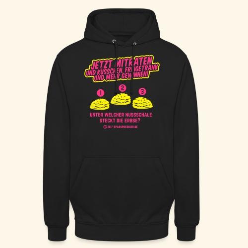lustiges Flirt-Shirt Hütchenspiel - Unisex Hoodie