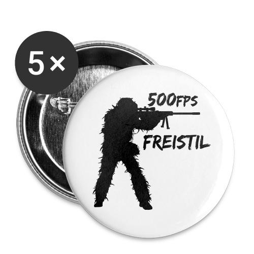Tasse 500 FPS Freistil - Buttons klein 25 mm