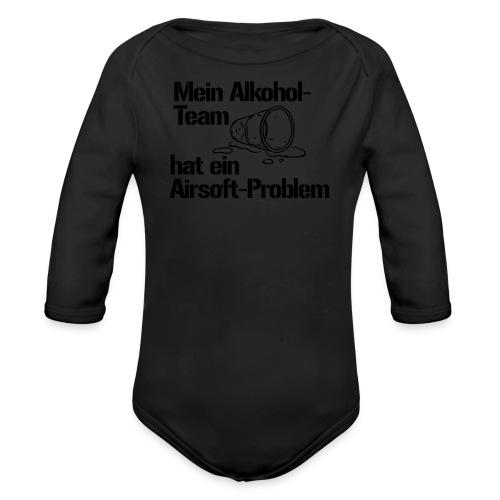 T-Shirt Alkosoft - Baby Bio-Langarm-Body