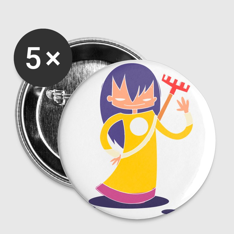 super Heros kawaii 10 Badges - Badge petit 25 mm