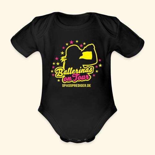 Ballerinas on Tour - Baby Bio-Kurzarm-Body