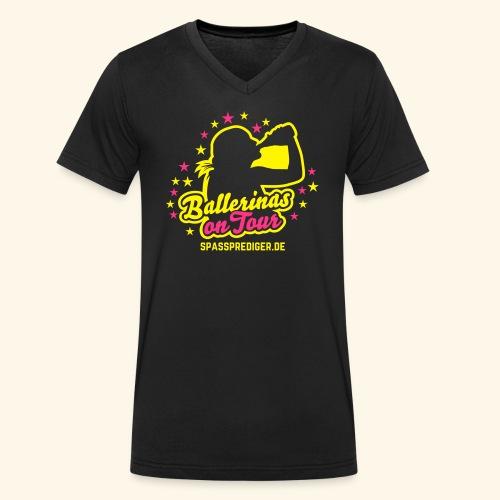 Ballerinas on Tour - Männer Bio-T-Shirt mit V-Ausschnitt von Stanley & Stella
