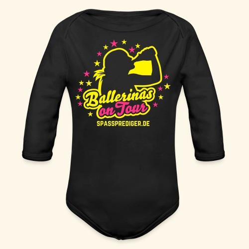 Ballerinas on Tour - Baby Bio-Langarm-Body