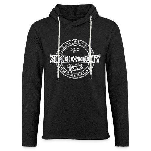 Zombieversity - Leichtes Kapuzensweatshirt Unisex